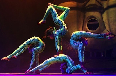 Contortion Act-Circus Artists