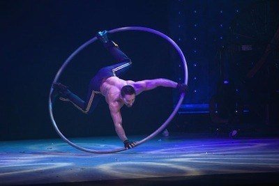 Cyr Wheel Acts-Circus Performers for hire